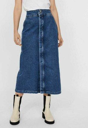 Denim skirt - dark blue