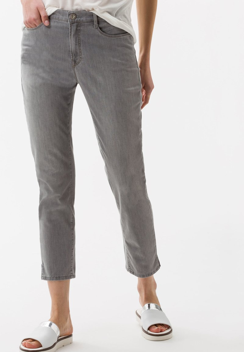 BRAX - STYLE MARY  - Straight leg jeans - light grey