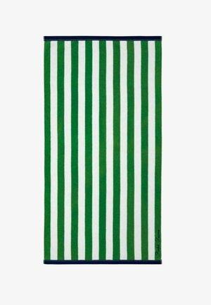 HUDSEN  - Beach towel - green / white