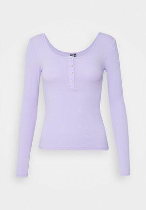 PCKITTE - Maglietta a manica lunga - lavender