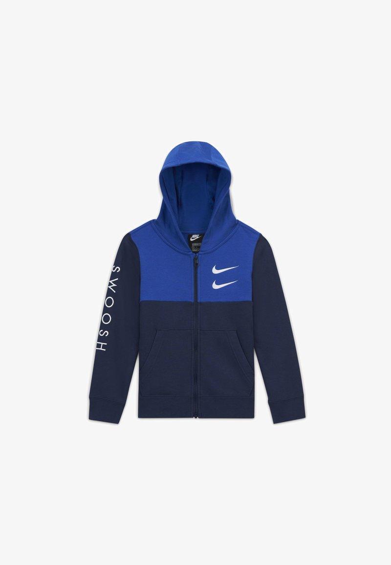 Nike Sportswear - Zip-up hoodie - midnight navy/game royal/white