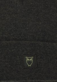 Knowledge Cotton Apparel - LEAF BEANIE UNISEX - Čepice - forrest night - 3