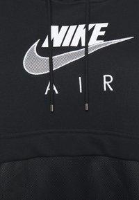 Nike Sportswear - AIR HOODIE - Mikina skapucí - black/white - 6