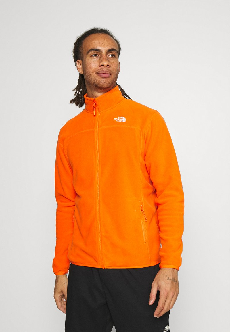 The North Face - M 100 GLACIER FULL ZIP - EU - Giacca in pile - flame