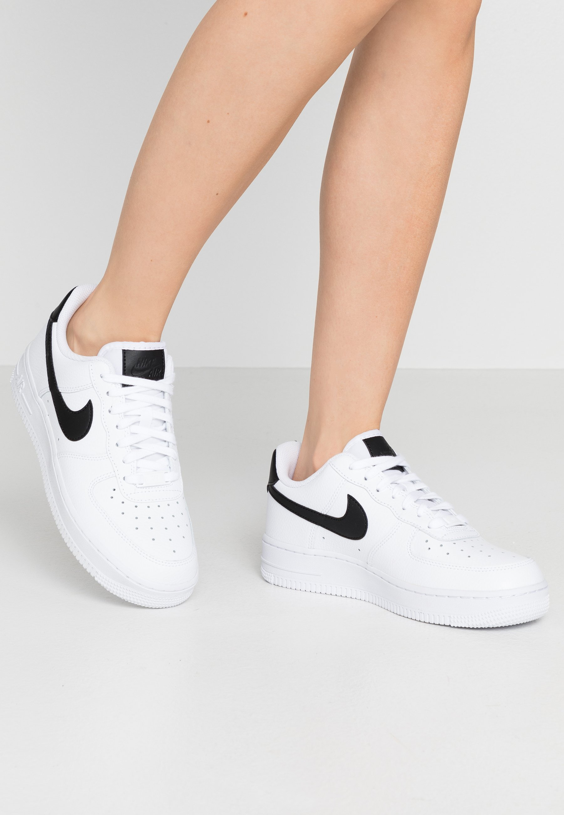 AIR FORCE 1 - Sneakers laag - white/black