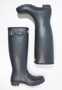 Hunter ORIGINAL - ORIGINAL TALL VEGAN - Wellies - Kalosze - navy - 4