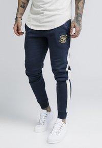 SIKSILK - TAPED - Pantaloni sportivi - navy - 0