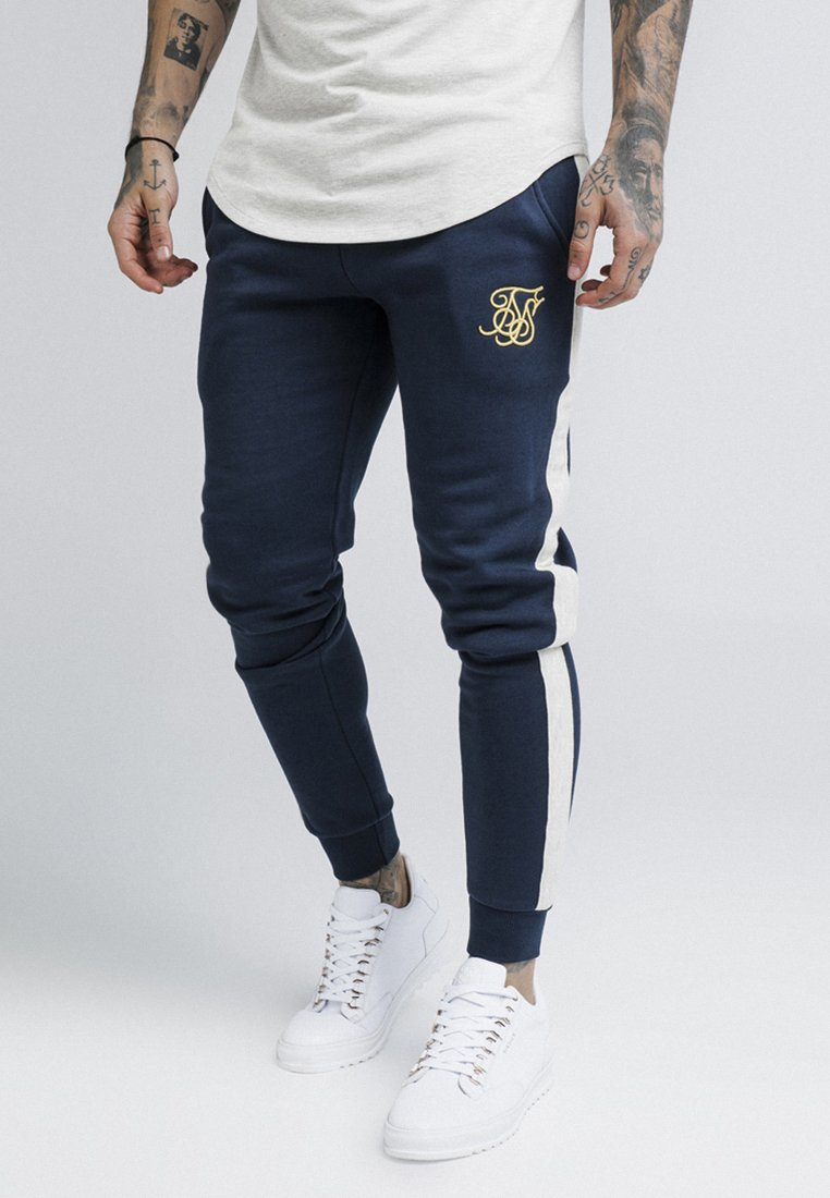 SIKSILK - TAPED - Pantaloni sportivi - navy