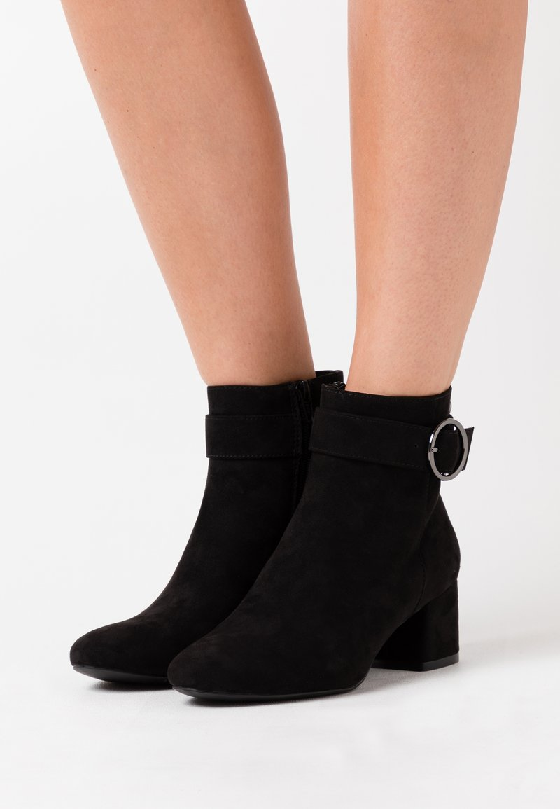 s.Oliver - Classic ankle boots - black