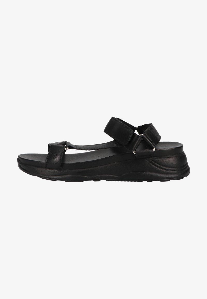 ILC - Sandales compensées - black / sole black
