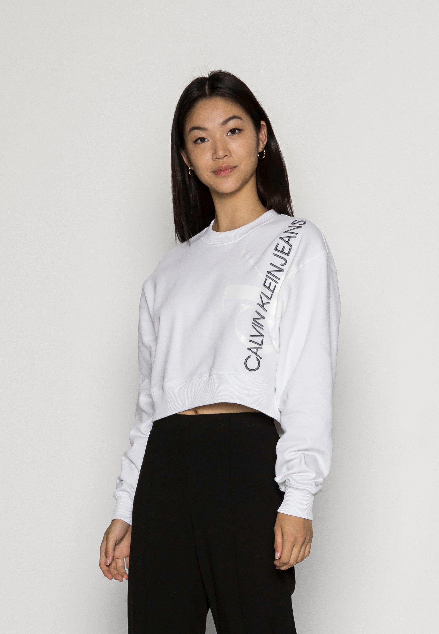 Women VERTICAL MONOGRAM CREW NECK - Sweatshirt