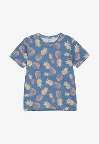 Jack & Jones Junior - JORFUNK TEE CREW NECK - Print T-shirt - ensign blue - 2