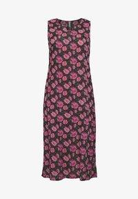 Sheego - Maxi dress - schwarz bedruckt - 4