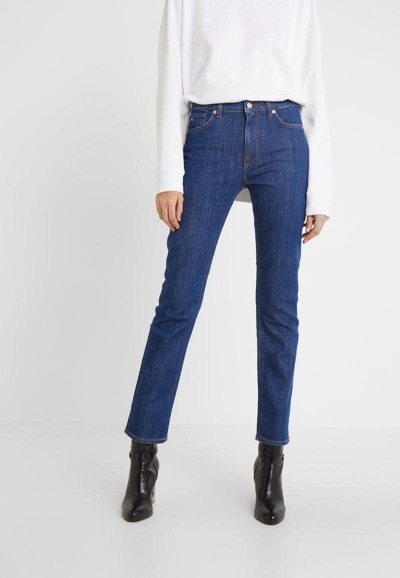 J.LINDEBERG - RODE RINSE - Slim fit jeans - mid blue