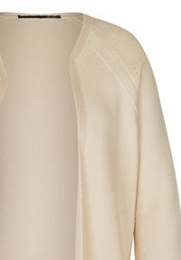 LeComte - MIT OFFENER FRONT - Cardigan - sand - 2