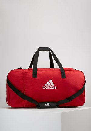TIRO DU  - Sports bag - power red/white