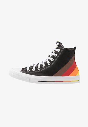 PRIDE CHUCK TAYLOR ALL STAR - Høye joggesko - black/university red