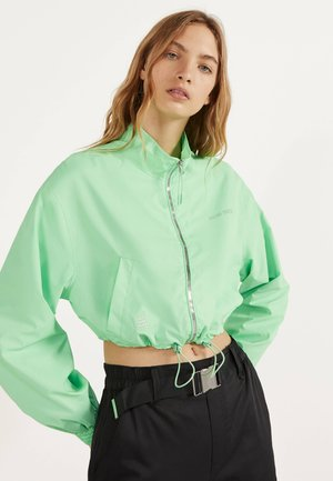 REFLEKTIERENDE CROPPED-JACKE 01242644 - Summer jacket - green
