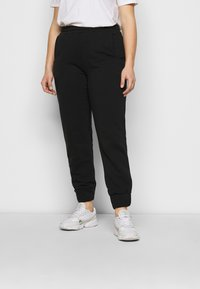 CAPSULE by Simply Be - JOGGER - Tracksuit bottoms - black - 0