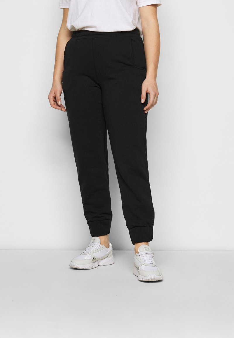 CAPSULE by Simply Be - JOGGER - Tracksuit bottoms - black