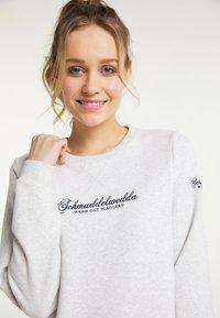 Schmuddelwedda - Sweatshirt - wollweiss melange - 3