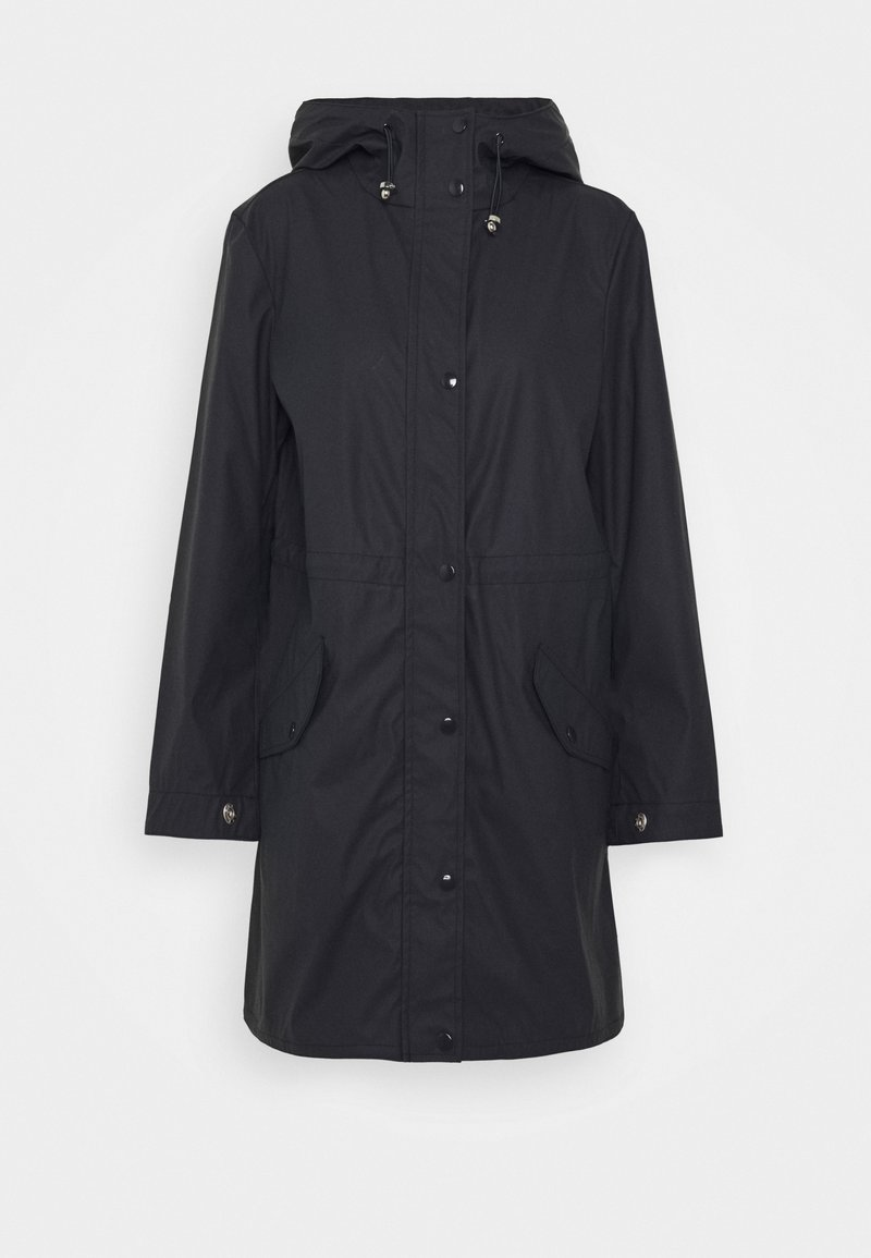 Vero Moda Petite - VMFRIDAYMUSIC COATED JACKET - Parka - night sky