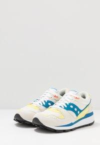 Saucony - AZURA - Baskets basses - white/blue/yellow - 2