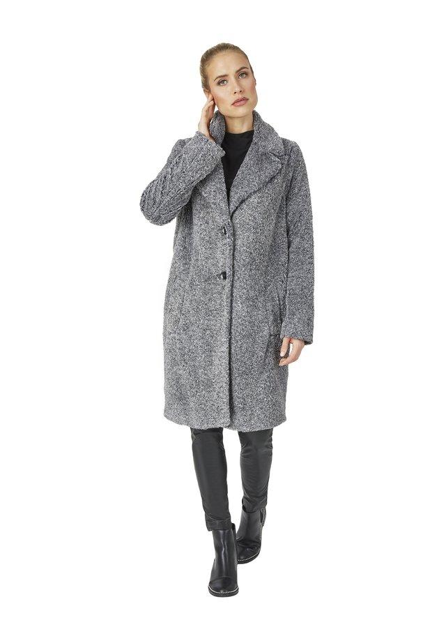 Classic coat - anthrazit