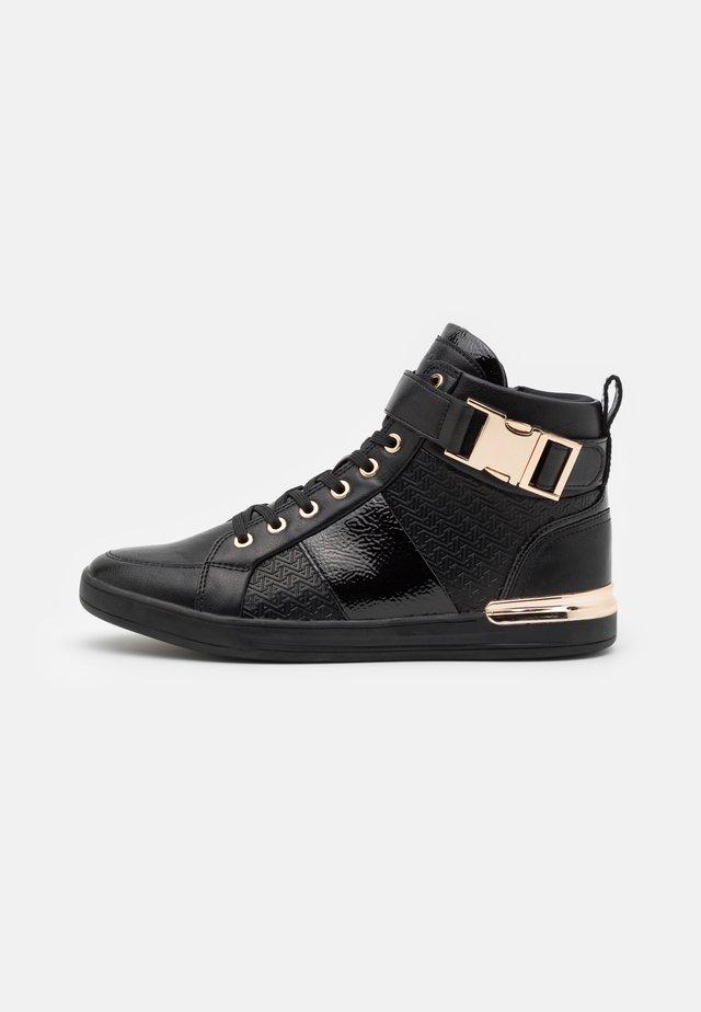 BRAUER - Höga sneakers - black