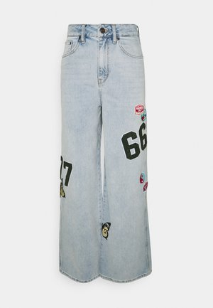 BADGE PUDDLE - Jeans relaxed fit - summer blue
