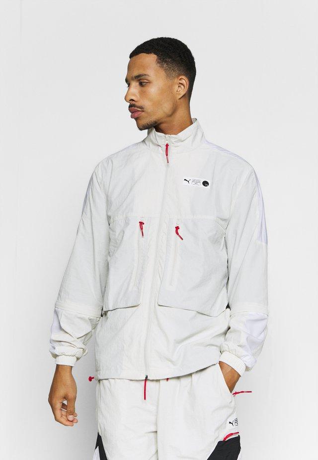 PARQUET WARM UP - Training jacket - vaporous gray