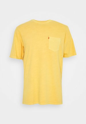 RELAXED FIT POCKET TEE - Jednoduché triko - yellows/oranges