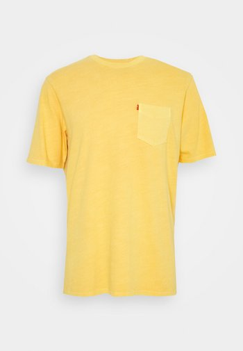 RELAXED FIT POCKET TEE - T-shirt basic - yellows/oranges