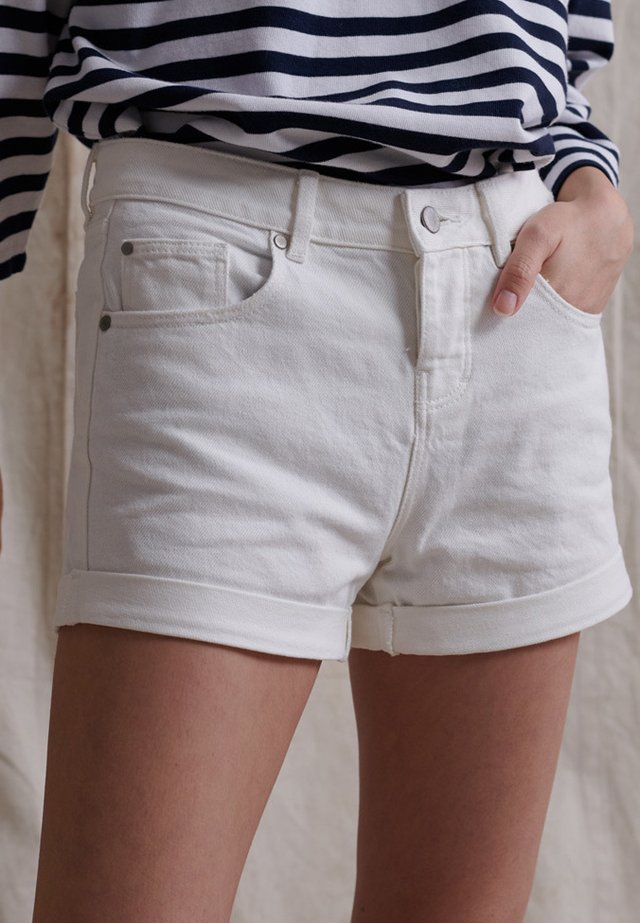 Shorts vaqueros - Denim Optic White
