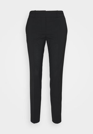 THE SKINNY TROUSERS - Pantalones - black