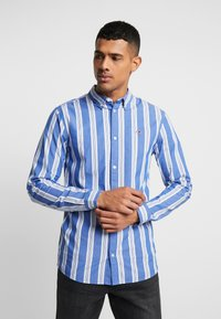 Tommy Jeans - STRIPE SHIRT - Shirt - surf the web - 0