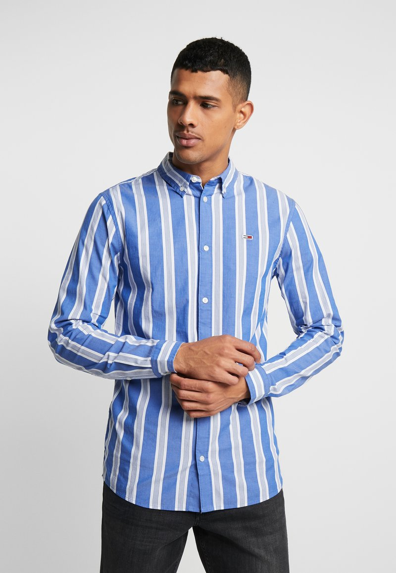 Tommy Jeans - STRIPE SHIRT - Shirt - surf the web