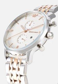 Emporio Armani - Chronograph watch - silver/gold - 3