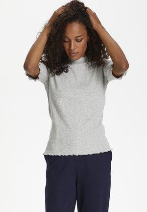 CANDACE - Basic T-shirt - opal gray melange