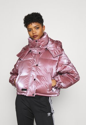 OVERSIZE WITH SHINY - Winter jacket - pink