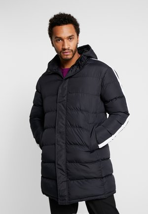 ALLEN - Płaszcz zimowy - black/white
