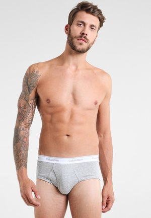 BRIEF 3 PACK - Briefs - black/white