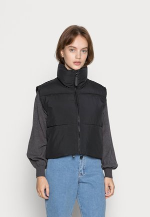 ONLNELLIA CROP VEST - Vest - black
