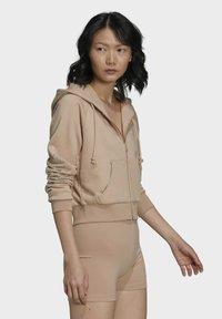 adidas Originals - Zip-up sweatshirt - beige - 2