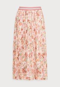 Rich & Royal - PLISSEE SKIRT - Pleated skirt - white stone - 4