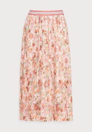 PLISSEE SKIRT - Pleated skirt - white stone