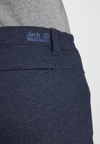 Jack Wolfskin - WINTER TRAVEL PANTS WOMEN - Pantalons outdoor - midnight blue - 5