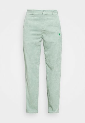 RELAXED TROUSER WITH YIN YANG EMBROIDERY UNISEX - Pantalones - green