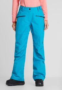 COLOURWEAR - CORK PANT - Ski- & snowboardbukser - enamel blue - 0