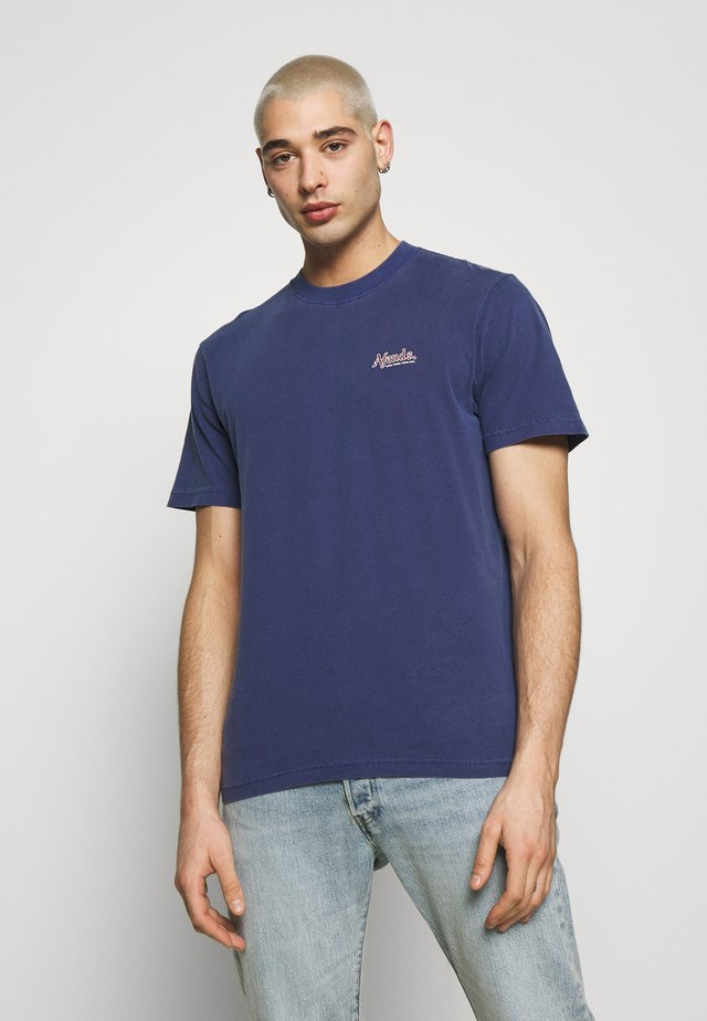 RENNIE RETRO FIT TEE - T-shirt med print - iris